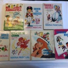 Libros de segunda mano: LOTE 7 CUENTOS ILUSTRADOS POR MARIA PASCUAL. EDICIONES TORAY. Lote 127997684