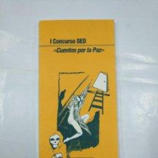 Libros de segunda mano: I CONCURSO SED RIOJA. CUENTOS POR LA PAZ. TDK347. Lote 127951343