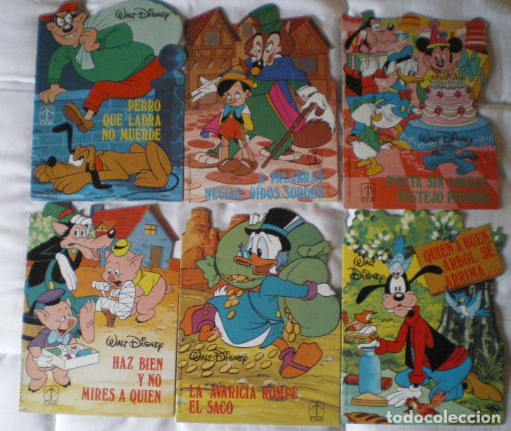 GILITO-DONALD-PINOCHO-GOOFY-DISNEY-TORAY. SERIE M-Nº 3-4-5-6-7-8 LOTE 6 CUENTOS NUEVOS 1984 (Libros de Segunda Mano - Literatura Infantil y Juvenil - Cuentos)