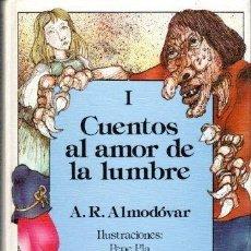 Libros de segunda mano: CUENTOS AL AMOR DE LA LUMBRE. 2 VOLS. ANTONIO RODRÍGUEZ ALMODÓVAR. ED. ANAYA., MADRID, 1987.. Lote 128345007