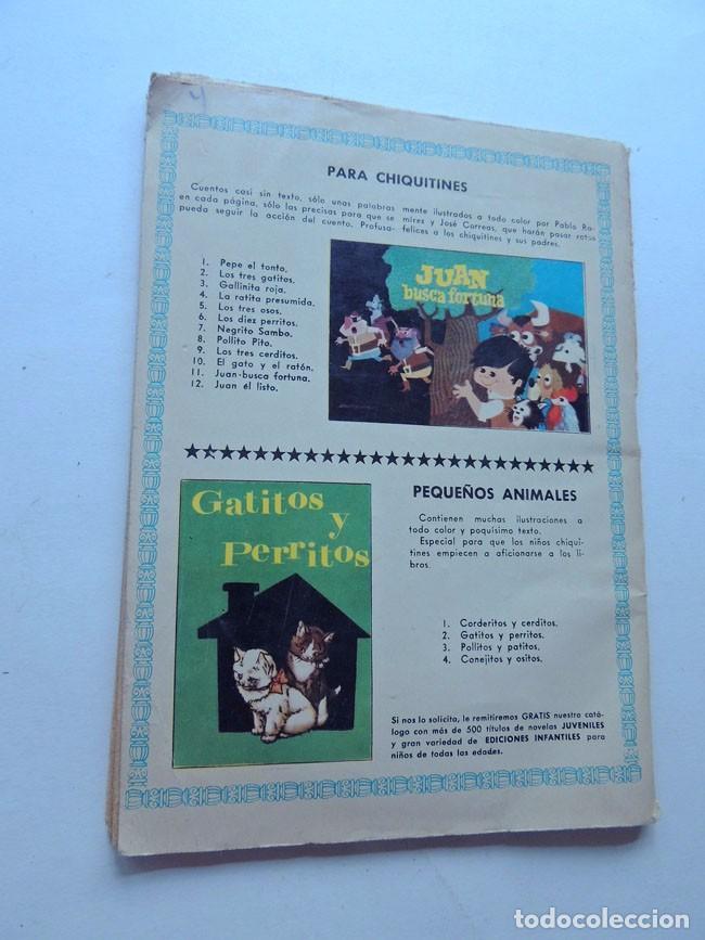 Libros de segunda mano: LA PESETA FALSA Y OTROS CUENTOS / COLECCION MARUJITA Nº 22 / ED. MOLINO AÑO 1964 - Foto 3 - 128463183