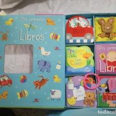 Libros de segunda mano: MIS PRIMEROS LIBROS-5 DELICIOSOS LIBROS INTERACTIVOS BEBE-IMAGINARIUN-ISBN 978--84-9780-599-5 . Lote 128492615