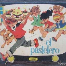 Libros de segunda mano: EL PASTELERO. CUENTOS TV TORAY. TROQUELADO. EDICIONES TORAY 1961. Lote 128548611