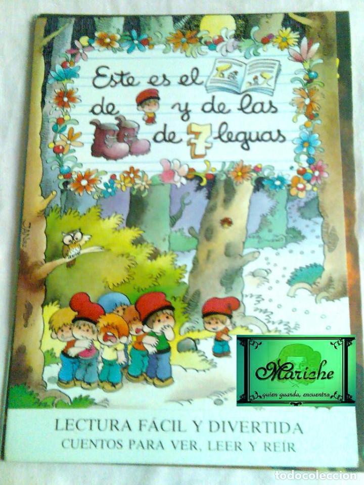 Libros de segunda mano: 8 CUENTOS MP-Jan-1986 BLANCANIEVES-FLAUTISTA-GATO-PULGARCITO-CENICIENTA-CERDITOS-CASITA-CAPERUCITA - Foto 2 - 132917934