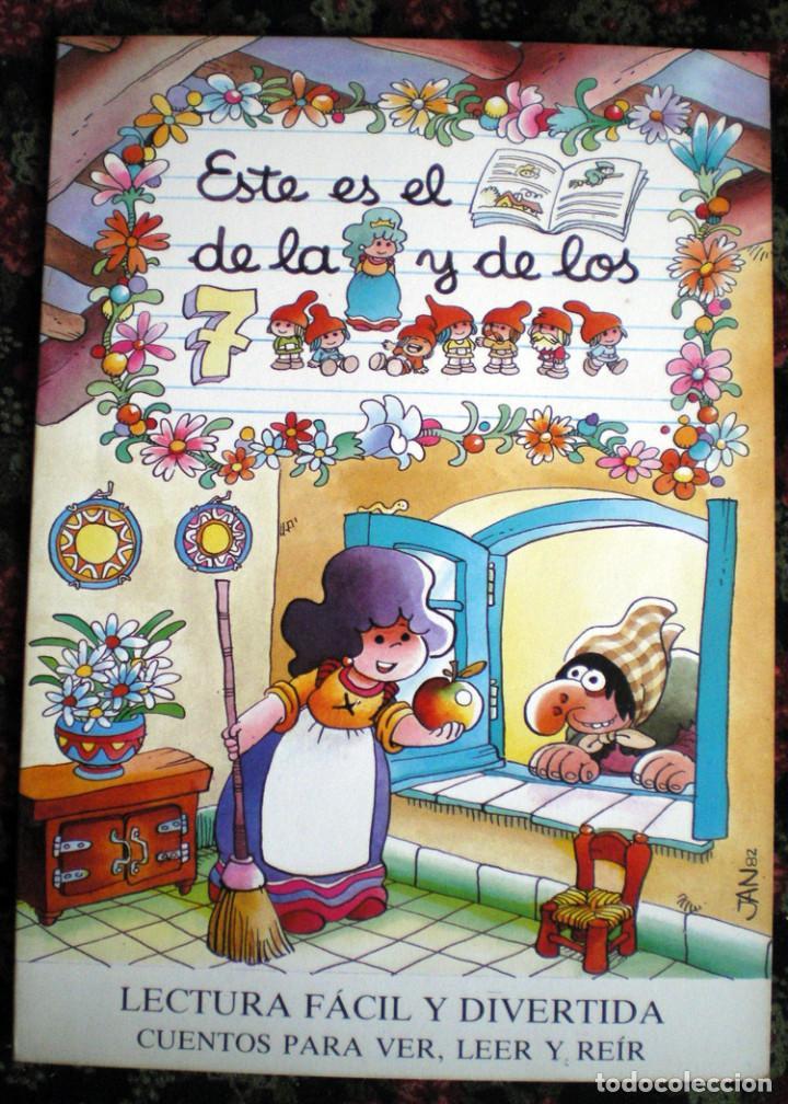 Libros de segunda mano: 8 CUENTOS MP-Jan-1986 BLANCANIEVES-FLAUTISTA-GATO-PULGARCITO-CENICIENTA-CERDITOS-CASITA-CAPERUCITA - Foto 3 - 132917934