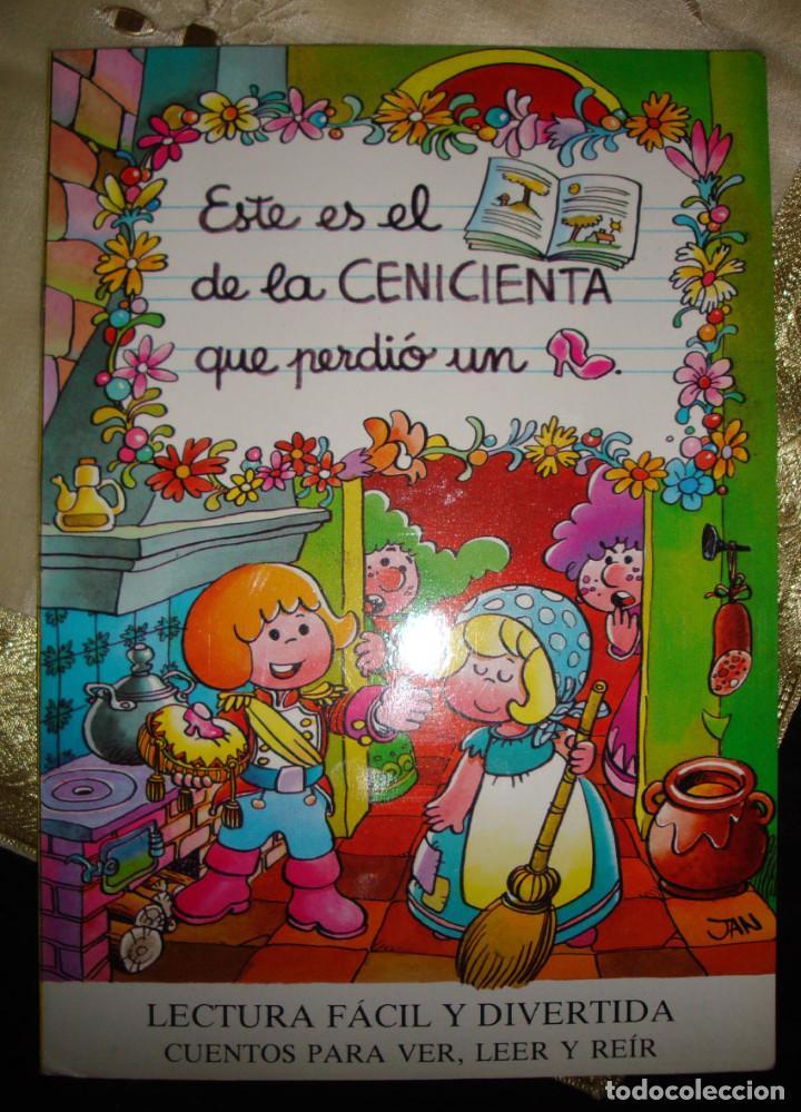 Libros de segunda mano: 8 CUENTOS MP-Jan-1986 BLANCANIEVES-FLAUTISTA-GATO-PULGARCITO-CENICIENTA-CERDITOS-CASITA-CAPERUCITA - Foto 4 - 132917934