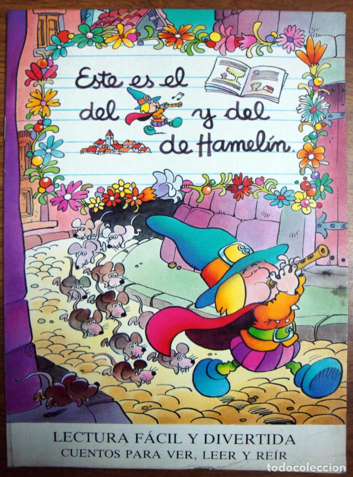 Libros de segunda mano: 8 CUENTOS MP-Jan-1986 BLANCANIEVES-FLAUTISTA-GATO-PULGARCITO-CENICIENTA-CERDITOS-CASITA-CAPERUCITA - Foto 5 - 132917934