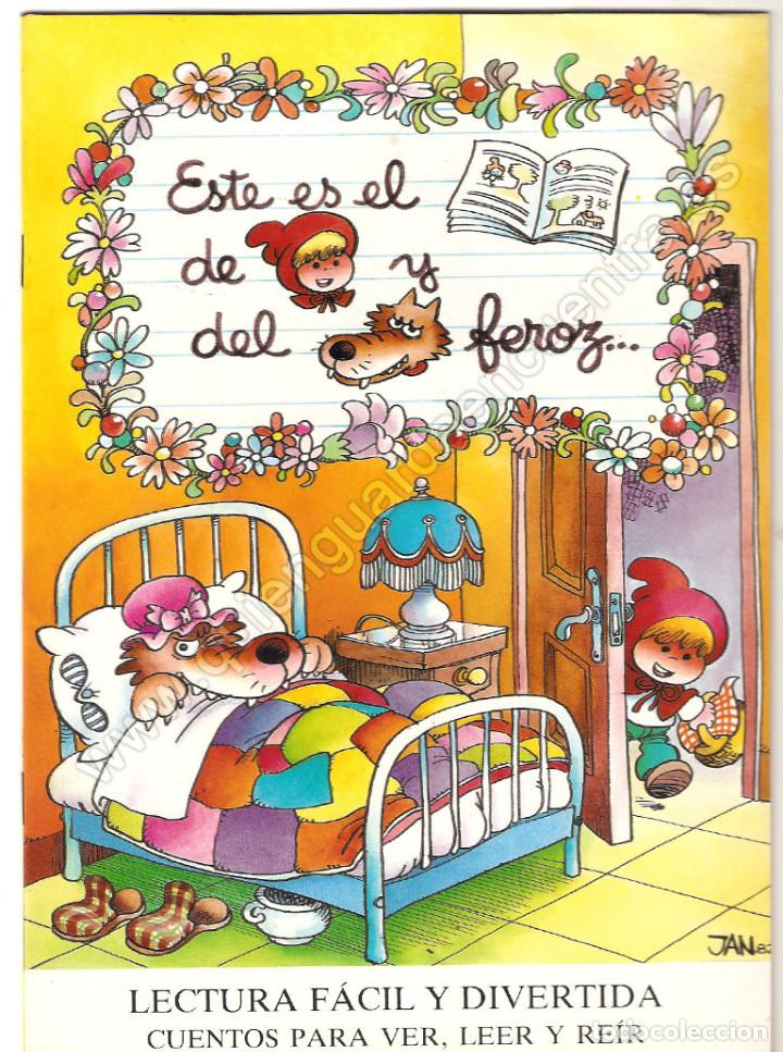 Libros de segunda mano: 8 CUENTOS MP-Jan-1986 BLANCANIEVES-FLAUTISTA-GATO-PULGARCITO-CENICIENTA-CERDITOS-CASITA-CAPERUCITA - Foto 6 - 132917934