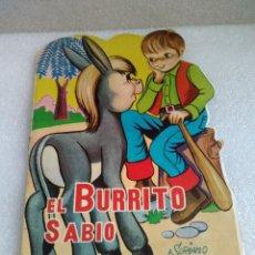 Libros de segunda mano: CUENTO TROQUELADO EL BURRITO SABIO. VILMAR 1968. Lote 128896771