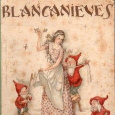 Libros de segunda mano: BLANCANIEVES POR MERCEDES LLIMONA (JUVENTUD, 1941) PRIMERA EDICIÓN. Lote 128914795