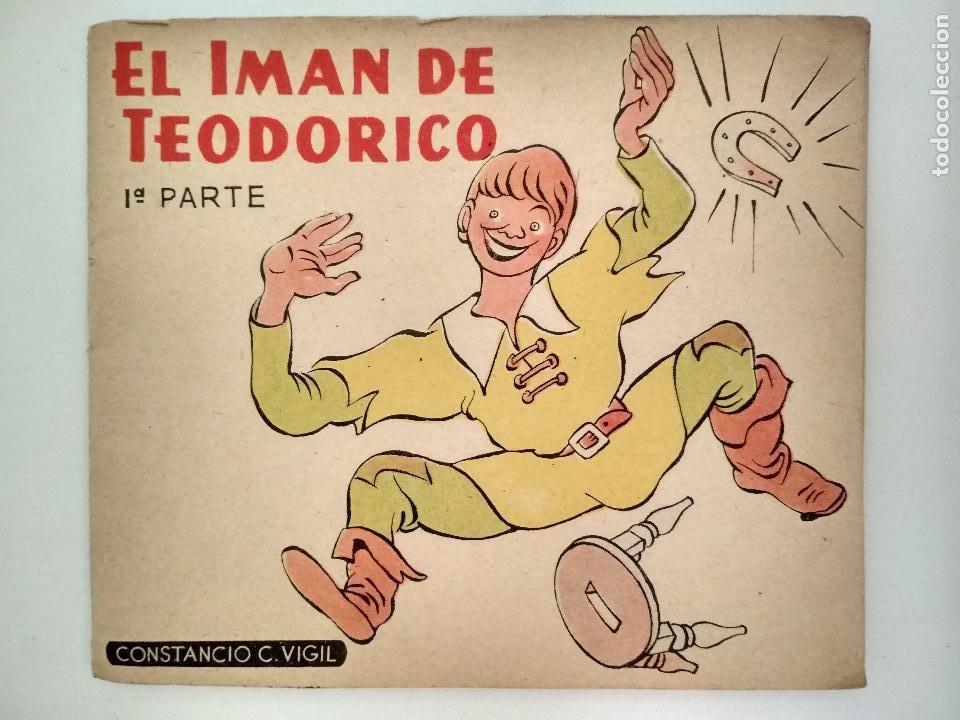 EL IMAN DE TEODORICO, 1ª PARTE, CUENTOS DE VIGIL PARA NIÑOS, LIBRERIA ATLANTIDA, BUENOS AIRES (Libros de Segunda Mano - Literatura Infantil y Juvenil - Cuentos)