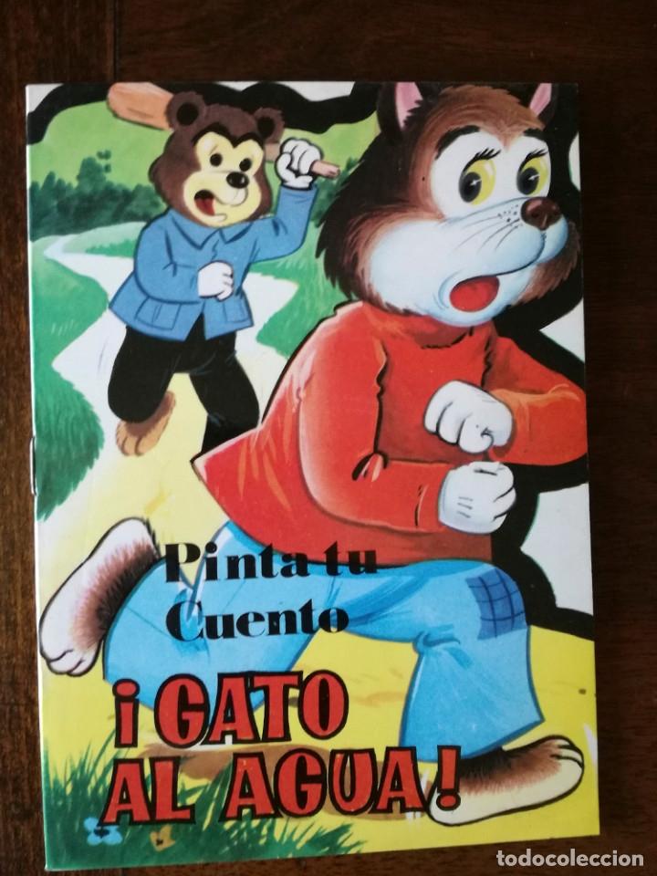 Libros de segunda mano: 11 cuentos preciosos mini la pastorcilla-Cenicienta- el perrito curioso Antalbe 1980 pinta tu cuento - Foto 10 - 101612347