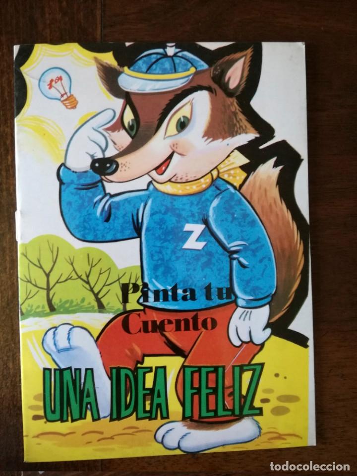 Libros de segunda mano: 11 cuentos preciosos mini la pastorcilla-Cenicienta- el perrito curioso Antalbe 1980 pinta tu cuento - Foto 11 - 101612347