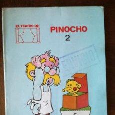 Libros de segunda mano: EL TEATRO DE PINOCHO Y EL FUEGO-COLECCION CUENTOS VIVOS 2-MUNDESA 1986 NUEVO. Lote 129031387