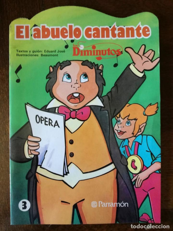 DE PARRAMÓN LOS DIMINUTOS 3 CUENTOS TROQUELADOS FORMATO GRANDE NUEVO Nº 2-3 DIBUJOS BEAUMONT 1986 (Libros de Segunda Mano - Literatura Infantil y Juvenil - Cuentos)