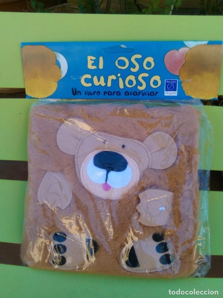 EL OSO CURIOSO UN LIBRO PARA ACARICIAR CON CUBIERTAS DE PELUCHE (Libros de Segunda Mano - Literatura Infantil y Juvenil - Cuentos)