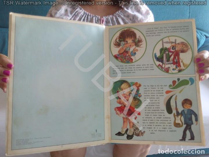 Libros de segunda mano: TUBAL VINTAGE 1975 30 CM 600 GRS 5 CUENTOS EN UN VOLUMEN 28 PGS - Foto 5 - 129685223