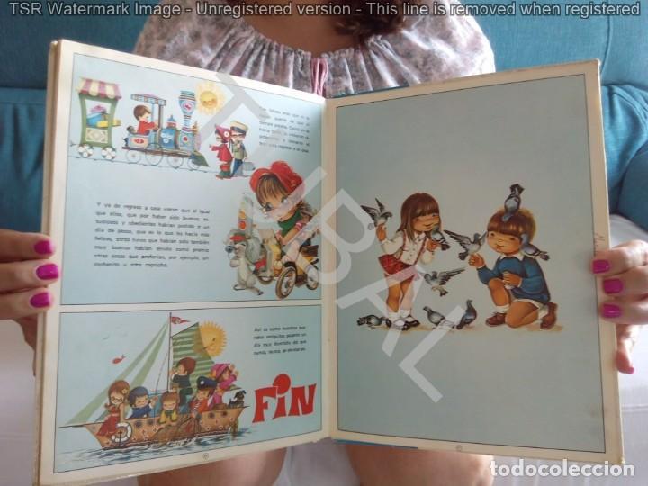 Libros de segunda mano: TUBAL VINTAGE 1975 30 CM 600 GRS 5 CUENTOS EN UN VOLUMEN 28 PGS - Foto 7 - 129685223