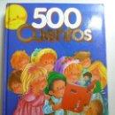 Libros de segunda mano: 500 CUENTOS. 1998. GRAFALCO (FORMATO GRANDE). Lote 129706783