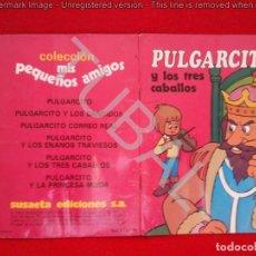 Libros de segunda mano: TUBAL CUENTO PULGARCITO Y LOS TRES CABALLOS 17 CM SUSAETA 130 GRS. Lote 129709623