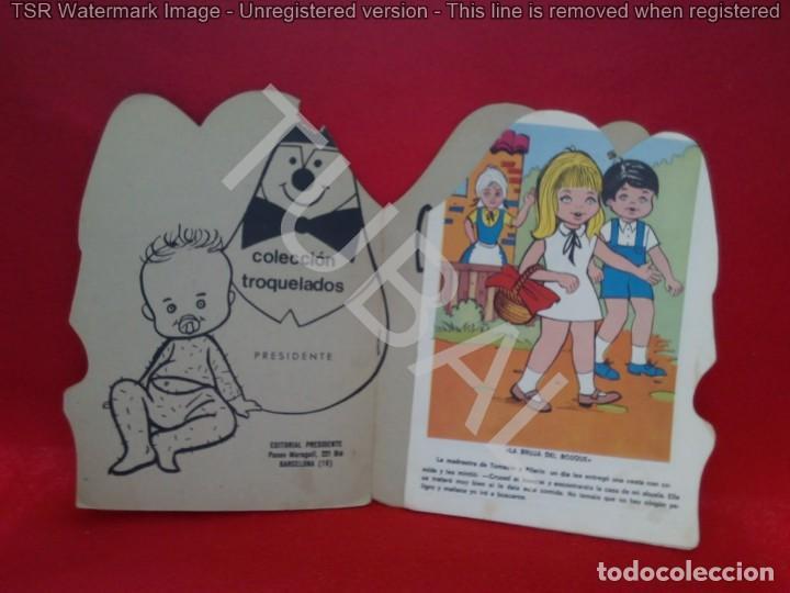 Libros de segunda mano: TUBAL CUENTO TROQUELADO LA BRUJA DEL BOSQUE SABATÉ 21 CM 190 GRS - Foto 3 - 129710775