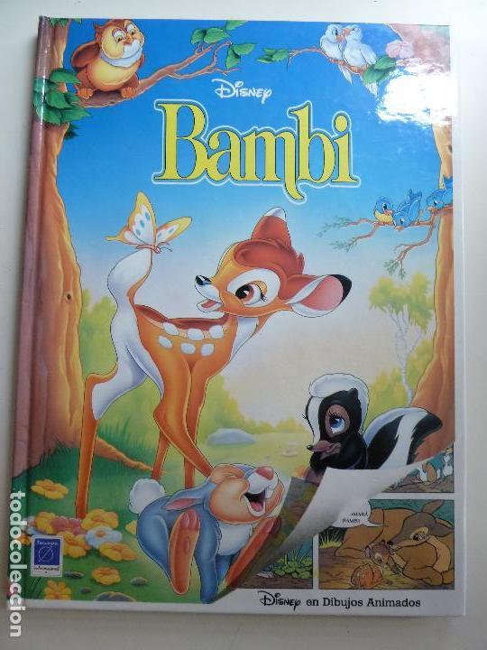 BAMBI. DISNEY. 1993 (Libros de Segunda Mano - Literatura Infantil y Juvenil - Cuentos)