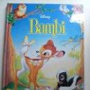 Libros de segunda mano: BAMBI. DISNEY. 1993. Lote 133238625