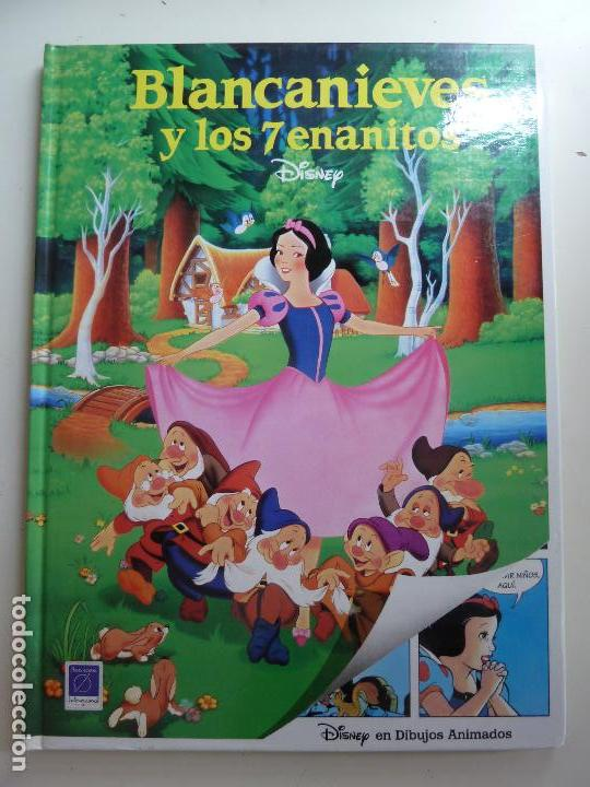 BLANCANIEVES Y LOS 7 ENANITOS. DISNEY. 1993 (Libros de Segunda Mano - Literatura Infantil y Juvenil - Cuentos)