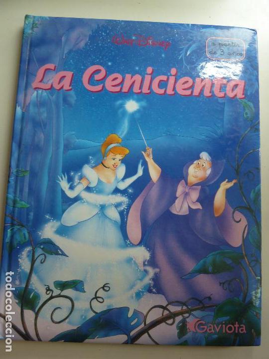 LA CENICIENTA. DISNEY. GAVIOTA. FORMATO GRANDE (Libros de Segunda Mano - Literatura Infantil y Juvenil - Cuentos)