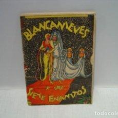 Libros de segunda mano: BLANCANIEVES Y LOS SIETE ENANITOS - CUENTOS INFANTILES LA ABEJA - EDITORIAL TOR 1944. Lote 129772063
