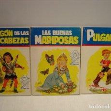 Libros de segunda mano: EL DRAGÓN DE LAS SIETE CABEZAS - BUENAS MARIPOSAS - PULGARCITO - TOMÁS PORTO - CUENTOS PRINCESA CÍES. Lote 129781499