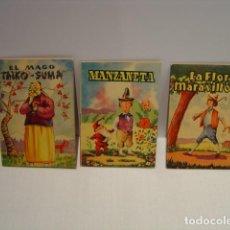 Libros de segunda mano: COLECCIÓN ALONDRA EDITORIAL ROMA - LA FLOR MARAVILLOSA - MANZANETA - EL MAGO TAIKO SUMA - JOSE PIZÁ. Lote 130019199