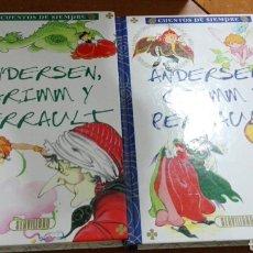 Libros de segunda mano - C62 SERVILIBRO CUENTOS DE SIEMPRE ANDERSEN GRIMM Y PERRAULT ILUSTRADORA MARIA PASCUAL - 130069162