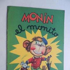 Libros de segunda mano: MONIN EL MONITO / SABATÉS / ED. BRUGUERA 1976 / TAÑAMO GRANDE. Lote 130088643