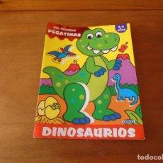 Libros de segunda mano: MIS PRIMERAS PEGATINAS: DINOSAURIOS. ED. SUSAETA.. Lote 130139963