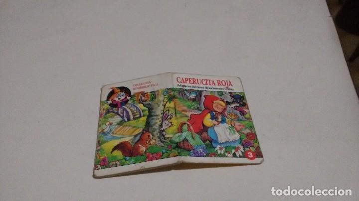COLECCION MINIBIBLIOTECA TRAPITO - CAPERUCITA ROJA (Libros de Segunda Mano - Literatura Infantil y Juvenil - Cuentos)