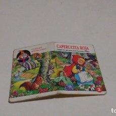 Libros de segunda mano: COLECCION MINIBIBLIOTECA TRAPITO - CAPERUCITA ROJA. Lote 130338854