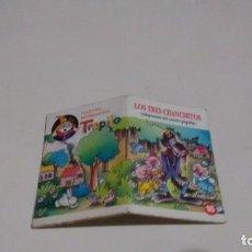 Libros de segunda mano: COLECCION MINIBIBLIOTECA TRAPITO - LOS TRES CHANCHITOS. Lote 130340190