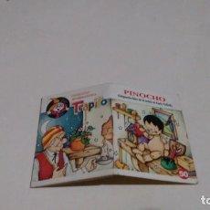 Libros de segunda mano: COLECCION MINIBIBLIOTECA TRAPITO - PINOCHO. Lote 130344322