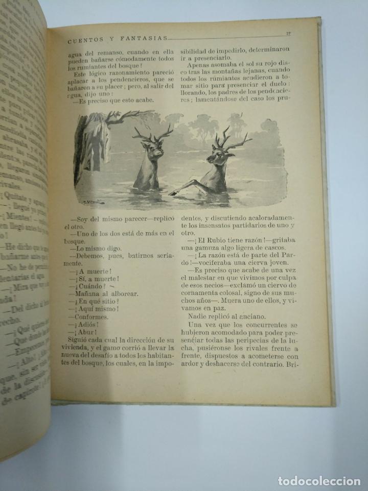 Libros de segunda mano: CUENTOS Y FANTASIAS. BIBLIOTECA PARA NIÑOS. EDITORIAL RAMÓN SOPENA, BARCELONA 1948. TDK92 - Foto 2 - 130425350
