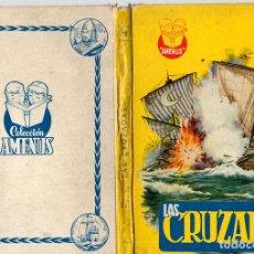 Libros de segunda mano: LAS CRUZADAS. ANTONIO GUARDIOLA. COLECCION AMENUS, Nº 11. EDITORIAL CIES, VIGO.. Lote 130491222