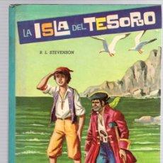 Libros de segunda mano: LA ISLA DEL TESORO. STEVENSON. COLECCION AMABLE. Nº 7. EDITORIAL VASCO AMERICANA, 1962. Lote 130491628