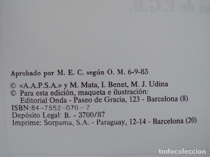 Libros de segunda mano: LIBRO PIPIRIGAÑA - LECTURAS CUARTO CURSO - EDITORIAL ONDA - EGB - AÑOS 80 - Foto 3 - 130785264