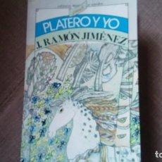 Libros de segunda mano: PLATERO Y YO EDITORES MEXICANOS REUNIDOS. Lote 130822488