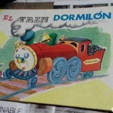 Libros de segunda mano: EL TREN DORMILON.SERIE SONRISA.1975. Lote 130924369