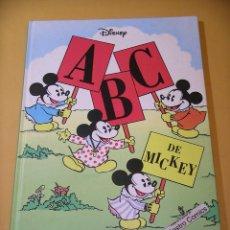 Libros de segunda mano: ABC DE MICKEY, ED. EVEREST, AÑO 1996, WALT DISNEY, ERCOM A5. Lote 131066708