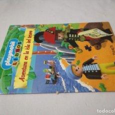 Libros de segunda mano: AVENTURA EN LA ISLA DEL TESORO.PLAYMOBIL LIBROSPLANETA 1998-CJ140. Lote 131680461