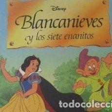 Libros de segunda mano: BLANCANIEVES Y LOS SIETE ENANITOS. DISNEY. EVEREST. 1993 28X22. Lote 131097280