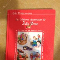 Libros de segunda mano: LAS MEJORES AVENTURAS DE JULIO VERNE (COLECCIÓN FARO). Lote 131163989