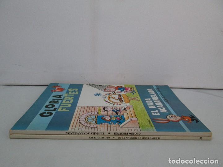 Libros de segunda mano: GLORIA FUERTES. EL HADA ACARAMELADA. EL LIBRO LOCO DE TODO UN POCO. EDITORIAL ESCUELA ESPAÑOLA - Foto 2 - 131165560